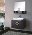 Luxuey solid wood cabinet for bathroom HC-5013