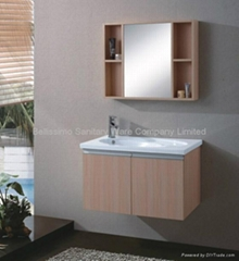 New design Wood bathroom cabinet  HC-5004
