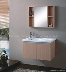 New design Wood bathroom