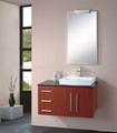 China bathroom cabinet(Wood)HC-5001-3