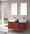 Chinese Modern Apartment Bathroom Vanity Wall Mounted Cabinet HC-5000-5