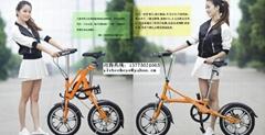 亿哲一秒折叠自行车YZ-6系列
