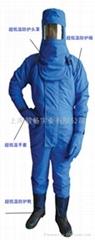 低温防护服防液氮服防冻服LNG站液氨防护服