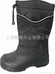超低溫液氮防護靴防凍鞋