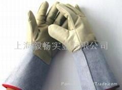 耐低温液氮防护手套LNG防冻手套