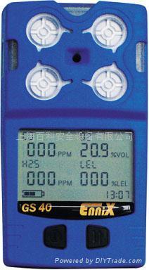 恩尼克思GS40 系列多种气体检测仪 1