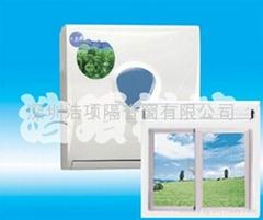 隔音窗隔音通风门窗与隔音通风器