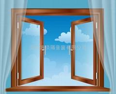 超强真空玻璃隔音窗