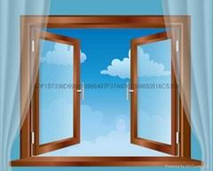 真空三層玻璃隔音窗