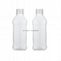 350ml方形塑料瓶、矿泉水瓶