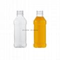 350ml方形塑料瓶、矿泉水瓶、豆浆瓶、果汁瓶 3