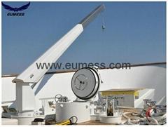 5T 10M Stiff  Boom Hydraulic Deck Marine Crane