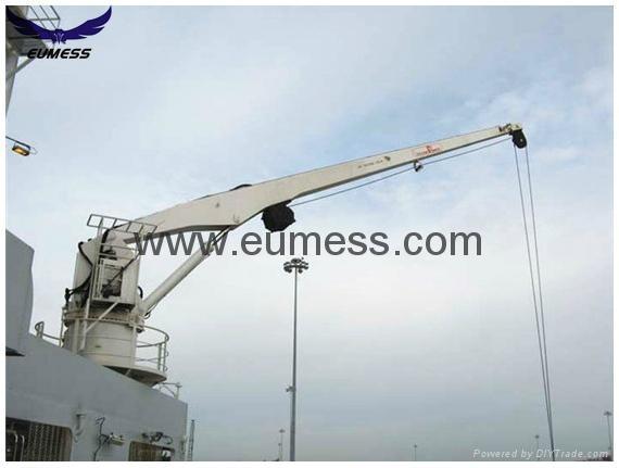 5t 10M液压 直臂甲板船用吊机 2