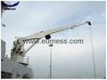 5T 10M Stiff  Boom Hydraulic Deck Marine Crane  2