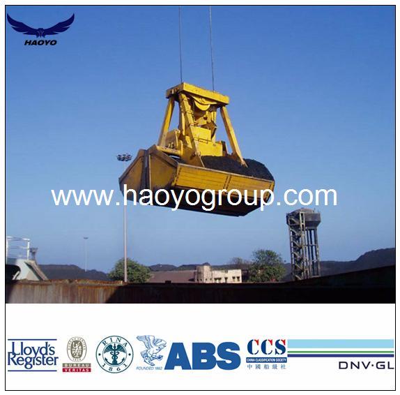 Remote Control Grab for Bulk Cargo on ship  2