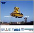 Remote Control Grab for Bulk Cargo on ship