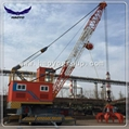 electric tyre mobile crane