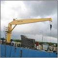 5吨13.5米直臂液压甲板港口