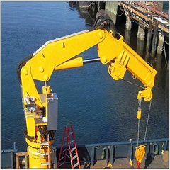 便攜式船用甲板折臂起重機