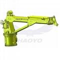 Hydraulic Motor telescopic marine cargo ship crane price