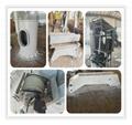 Hydraulic Motor telescopic marine cargo ship crane price 5
