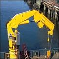 中国销售的转向船用折臂起重机
