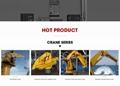 Portable Hydraulic Ship Deck Fixed Boom Crane  7