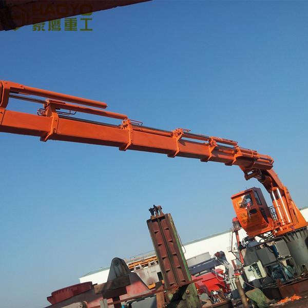 可折叠海上货物软管船用甲板起重机 3