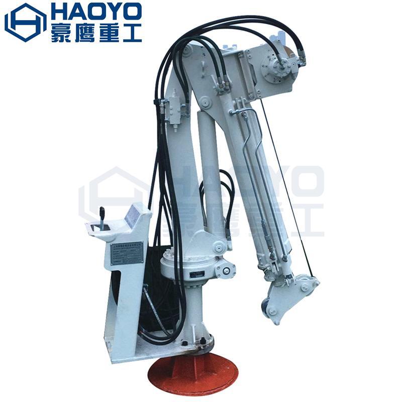 Knucle Boom Pedestal Marine Crane for sale in china  1