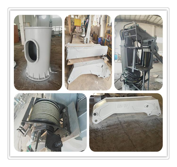 Knucle Boom Pedestal Marine Crane for sale in china  8