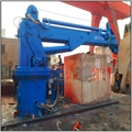 3T Ship Hydraulic Telescopic Boom Crane