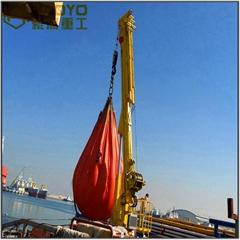可伸縮的海上基座起重機