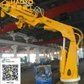 Ship Hydraulic Folding Marine Crane 2