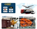 Hydraulic Knuckle Marine Boat Vessel Provision Crane  9