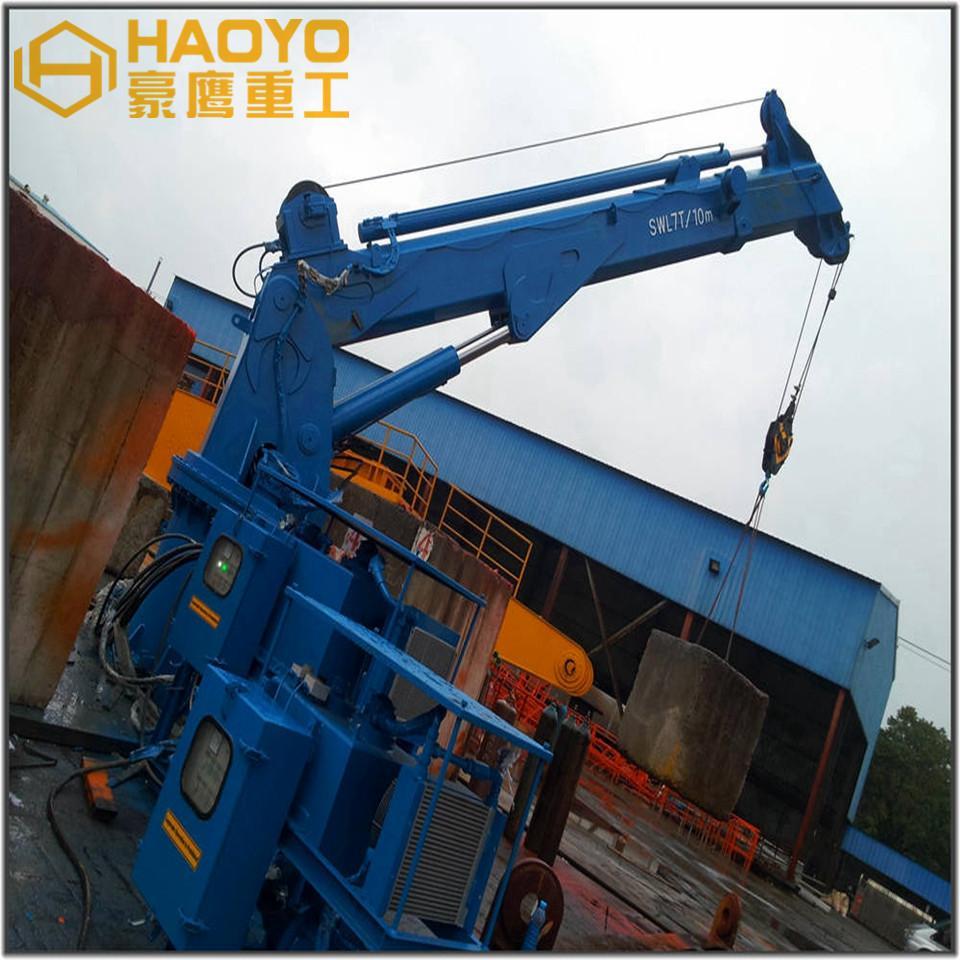 Hydraulic Telescopic Boom Extension Crane 2
