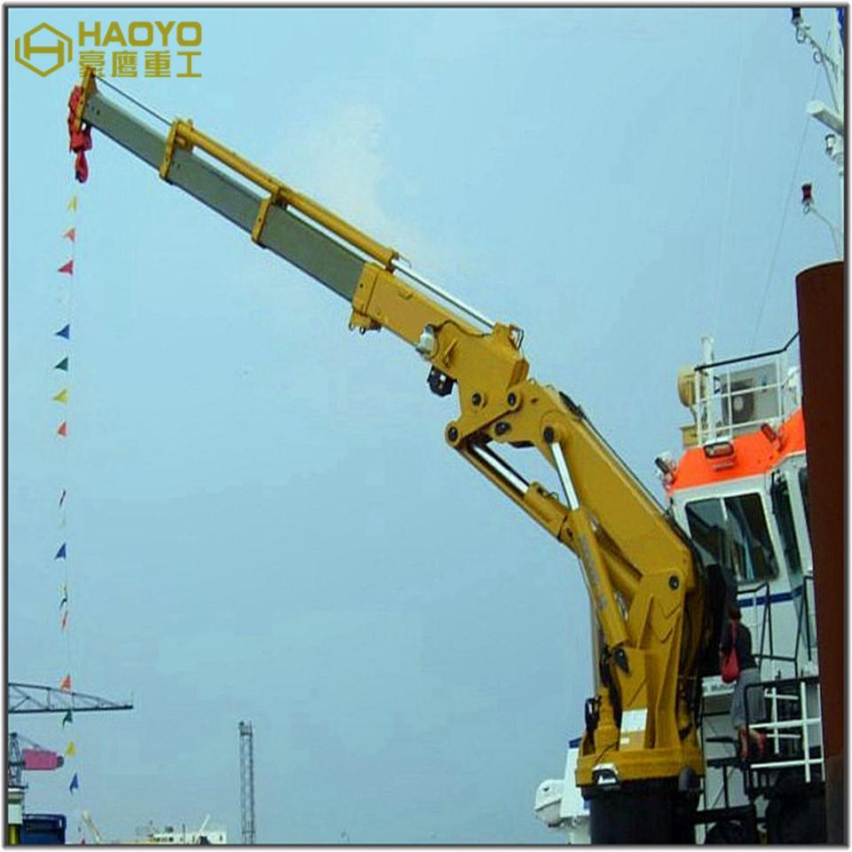 Hydraulic Marine Knuckle Mobile Crane 2