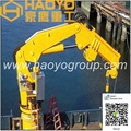 Knuckle Boom Marine Ship Crane for sale