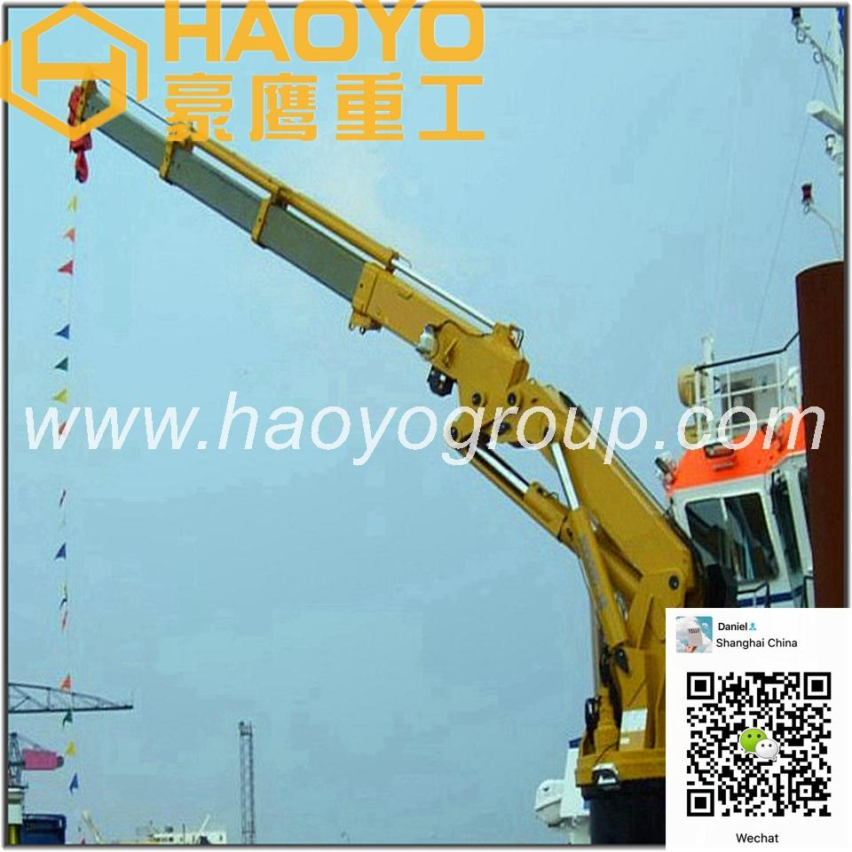 Knuckle Boom Marine Ship Crane for sale 2