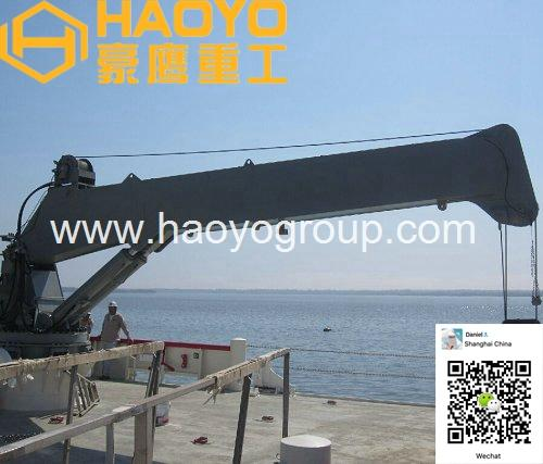 Shanghai HAOYO Offshore Marine Crane 3