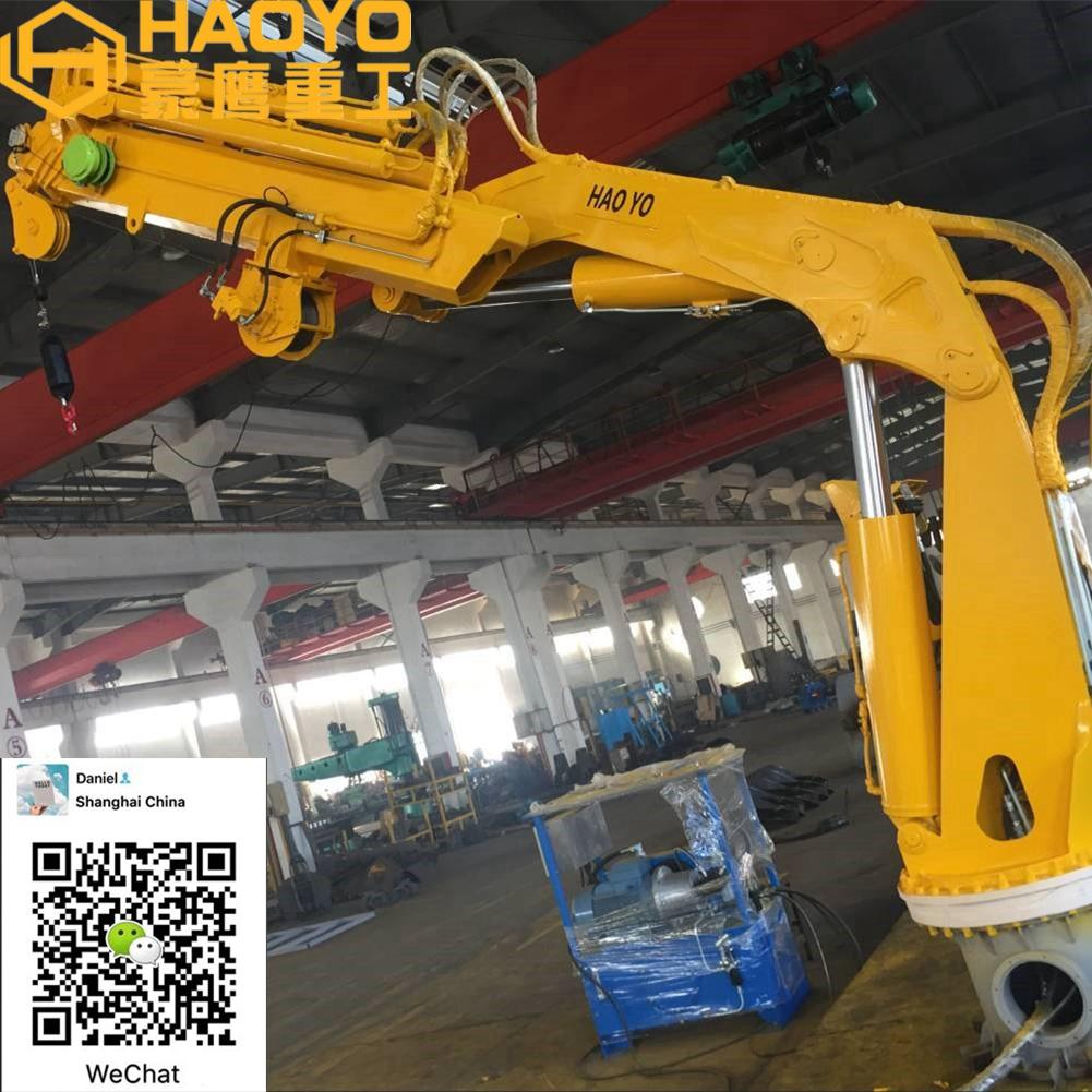 Fully Knuckle Boom Marine Crane for sale 3