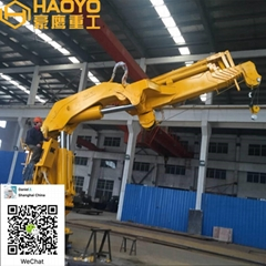 Fully Knuckle Boom Marine Crane for sale