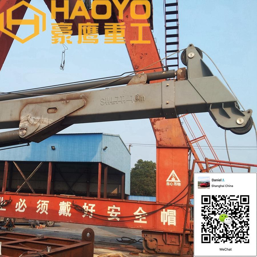 1 ton 3 ton 5 ton直臂伸缩吊机 4