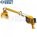 Customized Knuckle Boom Crane with Grab