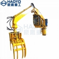 Customized Knuckle Boom Crane with Grab  2