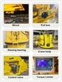 Telescopic Hydraulic Fixed Engine Crane sale 7