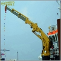 Knuckle Boom Electric Hydraulic Marine Crane 2