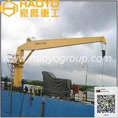 6t/14m船用直臂吊機有進口部件可定製