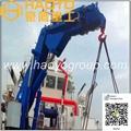 Hydraulic Knuckle Boom Marine Crane for sale