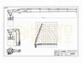 5 ton Knuckle Boom Articulated Marine Crane  5