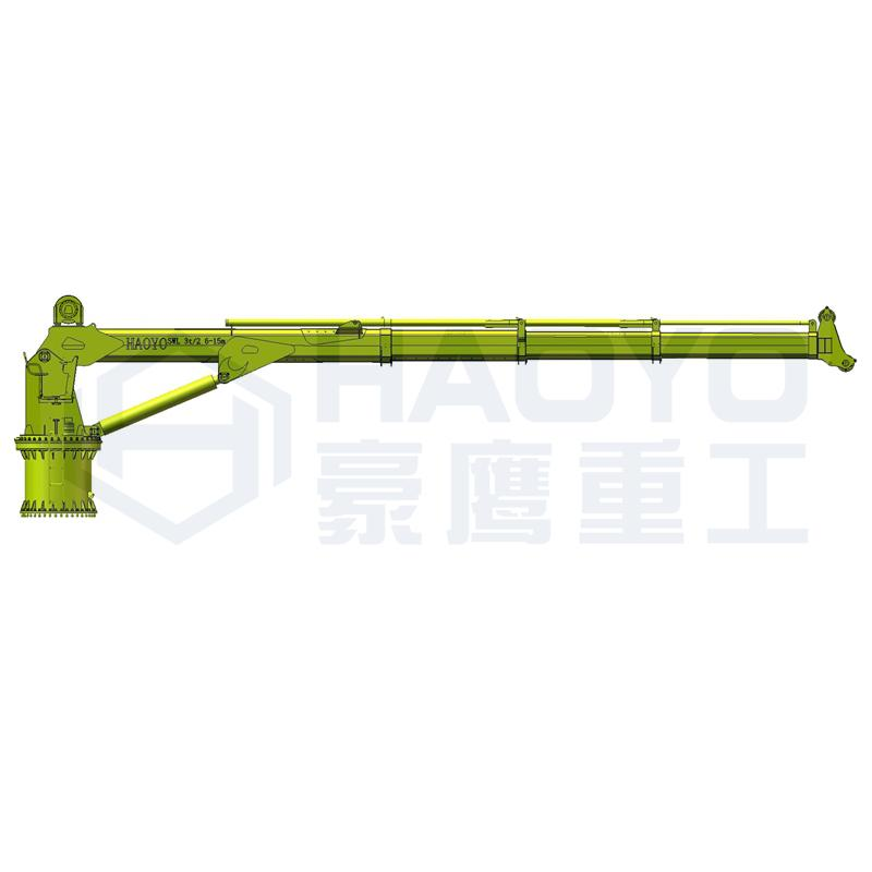 Mini Telescopic Hoist Portable Hydraulic Crane 4